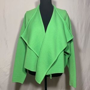 Escada Vintage Lime Green Cardigan